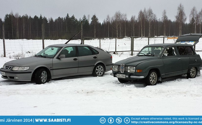 Saab Club Finland Winter Meet