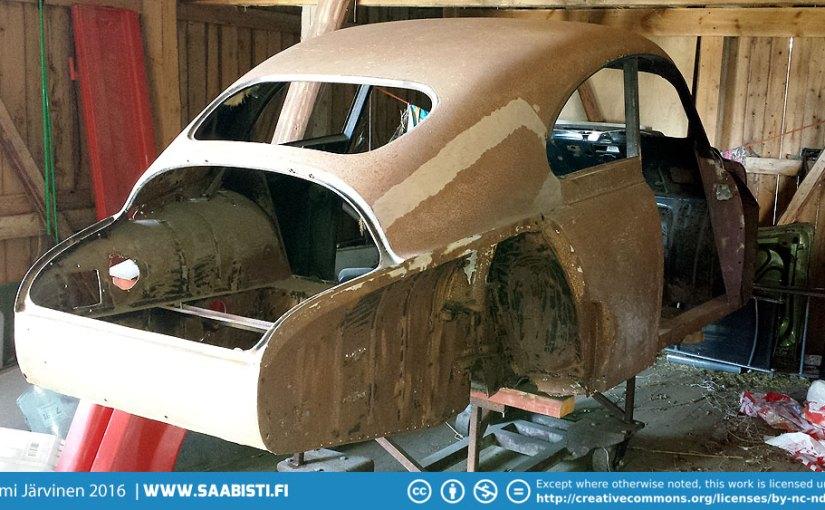 Saab 93B DeLuxe 1959 – Barn Find Basket Case