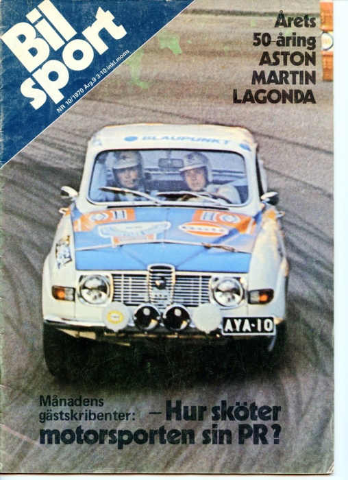 AYA10 Bilsport Magazine 1970
