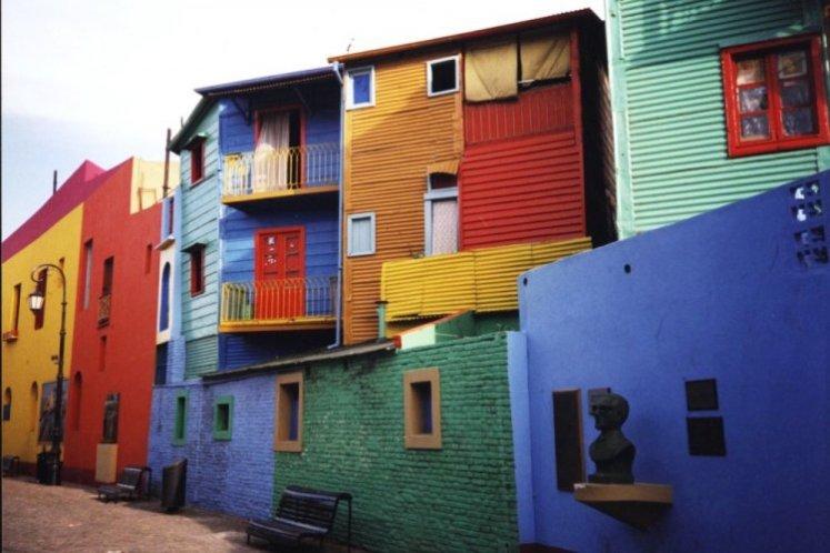 حي لابوكا في الأرجنتين - سائح