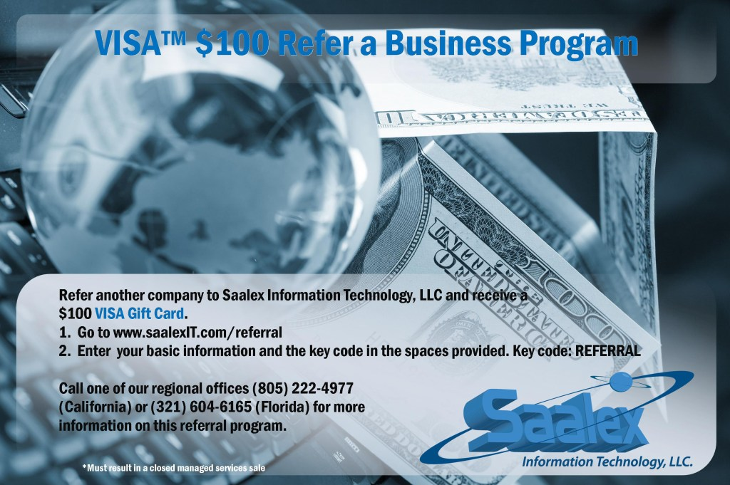 IT Business Referral Flyer