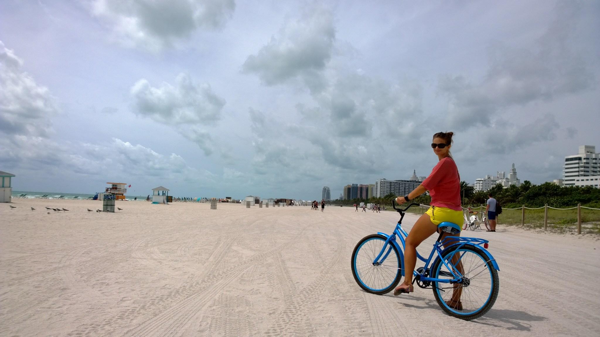 Miami Beachin rannat olivat kyllä hienot ja rantaa riitti silmänkantamattomiin. Mutta ei se kyllä minun rankingissä nouse lähellekään Barbudan ja Anegadan hiekkarantoja.