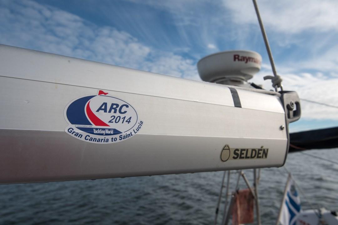 ARC 2014, meidän lähtö Atlantin ylitykselle. Pintaan nousee muistot siitä jännityksestä, kun koko suuri seikkailu oli vielä edessäpäin...