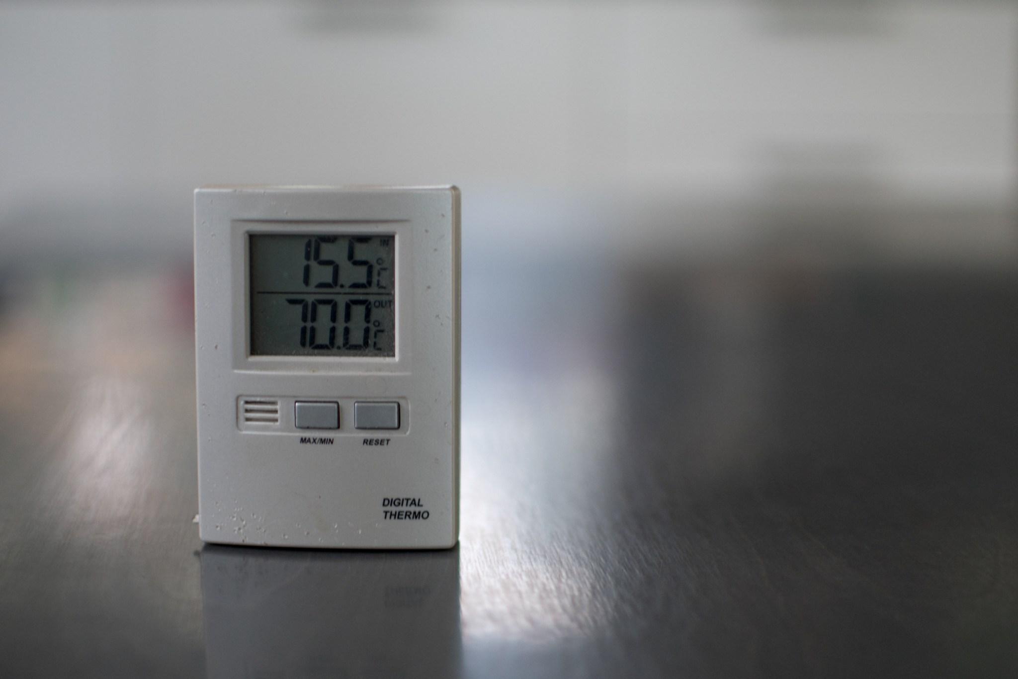 Aamulla oli jo vähän lämpimämpi!