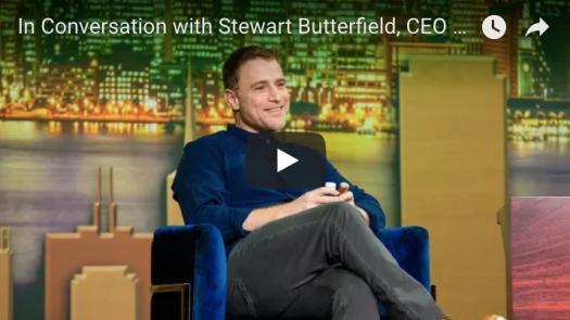 stewart butterfield slack saastr annual