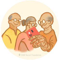 Smartphone assistance for senior citizens