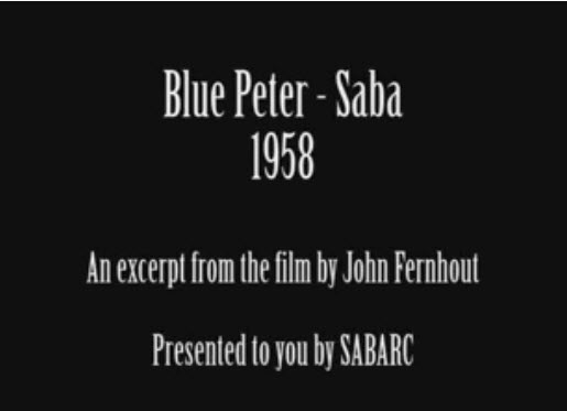 1958 Blue Peter visits Saba