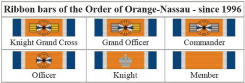 order of Orange Nassau
