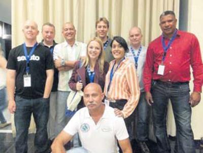 Dutch Caribbean Representatives at the GCFI Conference in Panama City, Panama.