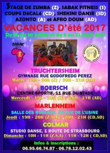 VACANCES D'ÉTÉ 2017