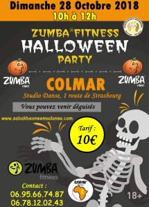 ZUMBA PARTY HALLOWEEN COLMAR