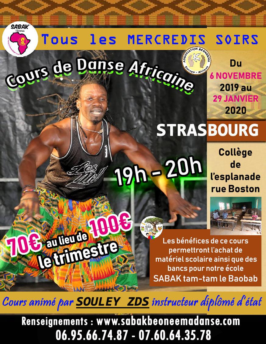 OFFRE SPÉCIALE DANSE AFRICAINE À STRASBOURG