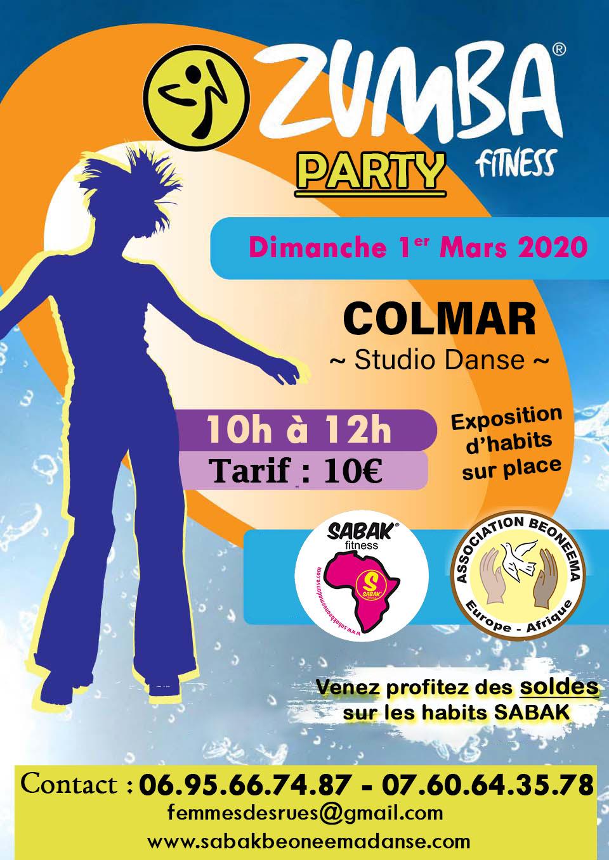 ZUMBA PARTY À COLMAR