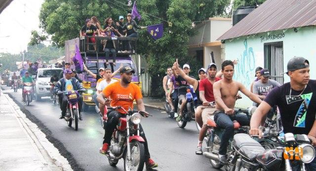 Caravana de la Alianza PLD - PRD