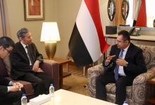 رئيس الوزراء يشيد بعمق ومتانة العلاقات التاريخية اليمنية الصينية