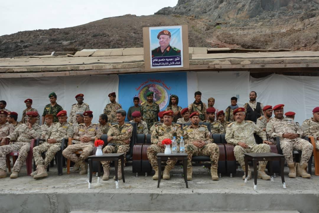 اللواء الثالث حماية رئاسية يدشن المرحلة الثانية من العام التدريبي 2019م