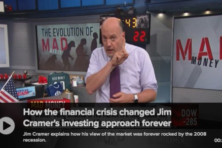"Jim Cramer ""Evolves"" Into Advocate For Index Funds"