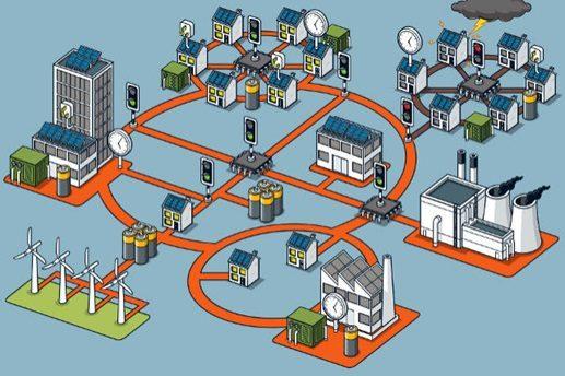 Smart Grids informará a concessionária sobre a distribuição de energia elétrica através de medidores digitais inteligentes