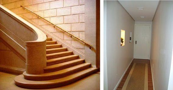 sensores de movimento para automatizar a iluminação de corredores e escadas