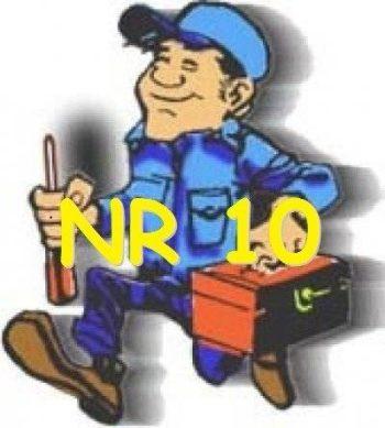 NR-10 – Segurança no trabalho em instalações elétricas.