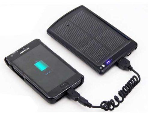 Fazendo uso dos carregadores fotovoltaicos