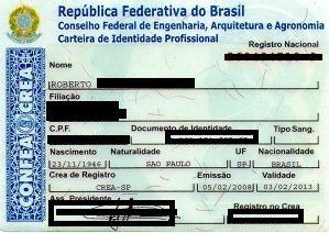Regulamentação do registro junto ao CREA