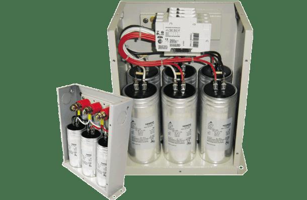 Aplicação do Bando de capacitores na correção do fator de potencia