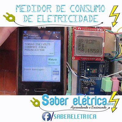 medidor eletrônico de energia elétrica como funciona