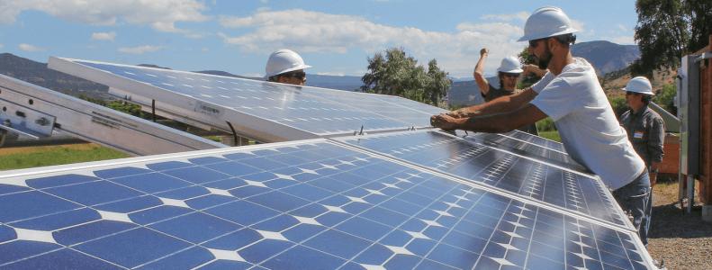 Casas que possuem energia solar fotovoltaica
