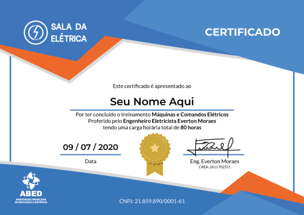 certificado-curso-comandos-eletricos