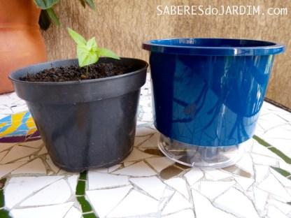 Vasos Autoirrigaveis - Mini