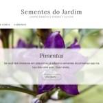 Sementes do Jardim – Loja de Sementes Orgânicas