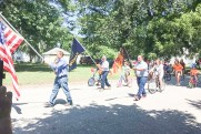 Local residents participate in the Morrill Days parade on Saturday, August 14.