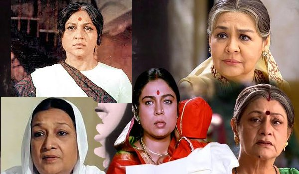 Bollywood's Famous onscreen Mothers