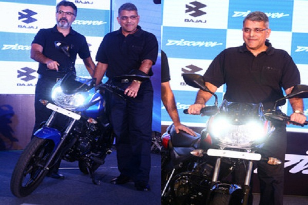 Bajaj launches new DISCOVER 110 and DISCOVER 125 in India