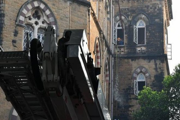 Fire in Mumbai Sessions Court building