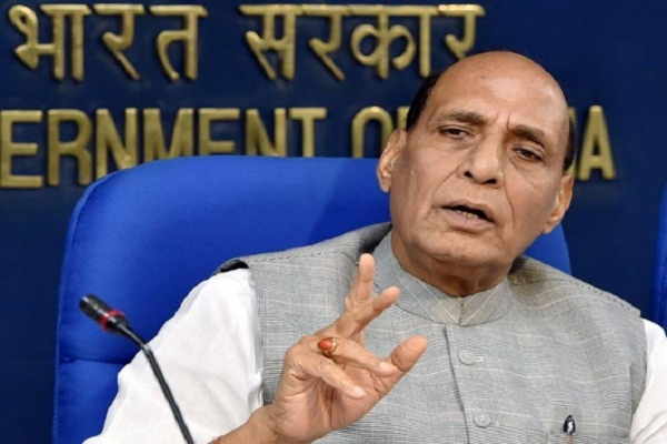Discussing outside the country issues, immaturity: Rajnath