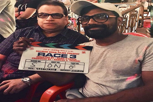 'Race 3' team starts shooting first song
