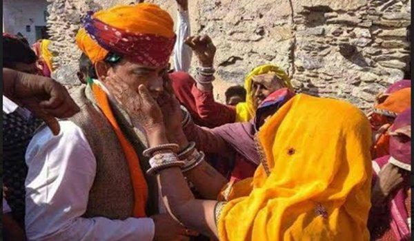 ajmer by-election 2018 : bjp candidate ramswaroop lamba poll campaign in dudu