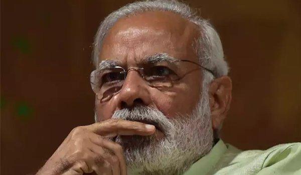 Prime Minister Modi arrives in Gwalior