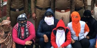 Six women, two men held for flesh trade in Gurugram