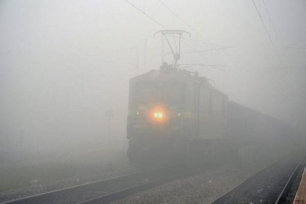 22 trains canceled in Delhi on dusky mornings
