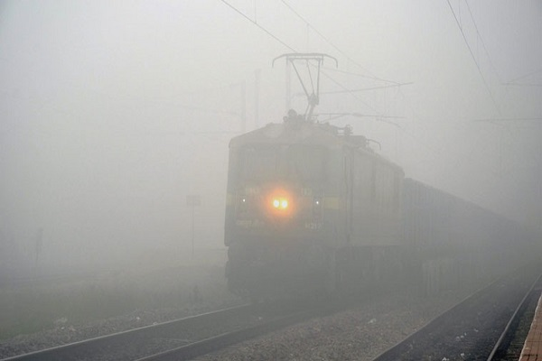 22 trains canceled in Delhi on dusky mornings