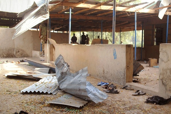 Suicide attack at the University of Nigeria