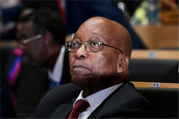 South Africa's opposition to the ruling party against the president