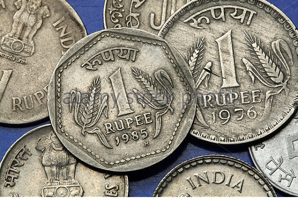 Why was the rupee weak?