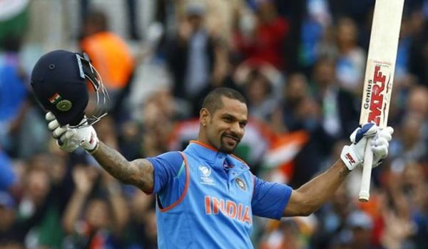 Shikhar Dhawan first Indian player to score century in 100th ODI