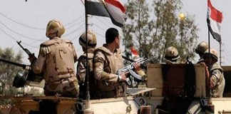 16 terrorists heap in Egypt anti-terrorism campaign
