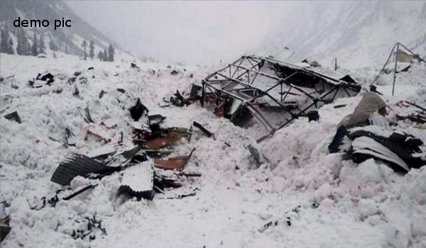 Three soldiers killed as avalanche hits army post in Kashmir