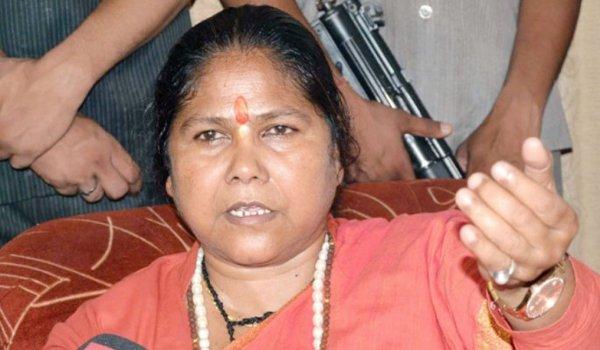 sadhvi niranjan jyoti in hamirpur